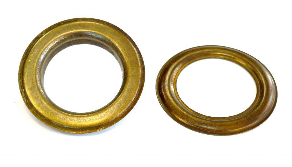 Oeillet laiton 40 mm laiton vieilli 10300 40 lv nos - Tapisserie anti bruit ...