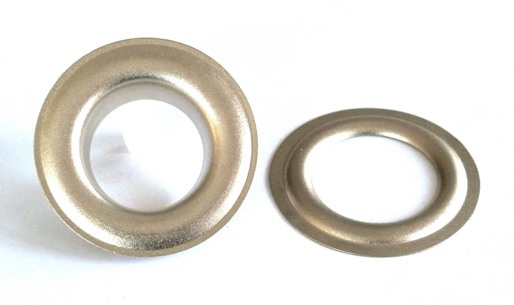 Oeillet laiton 25 mm nickel mat 10301 25 nm nos - Tapisserie anti bruit ...