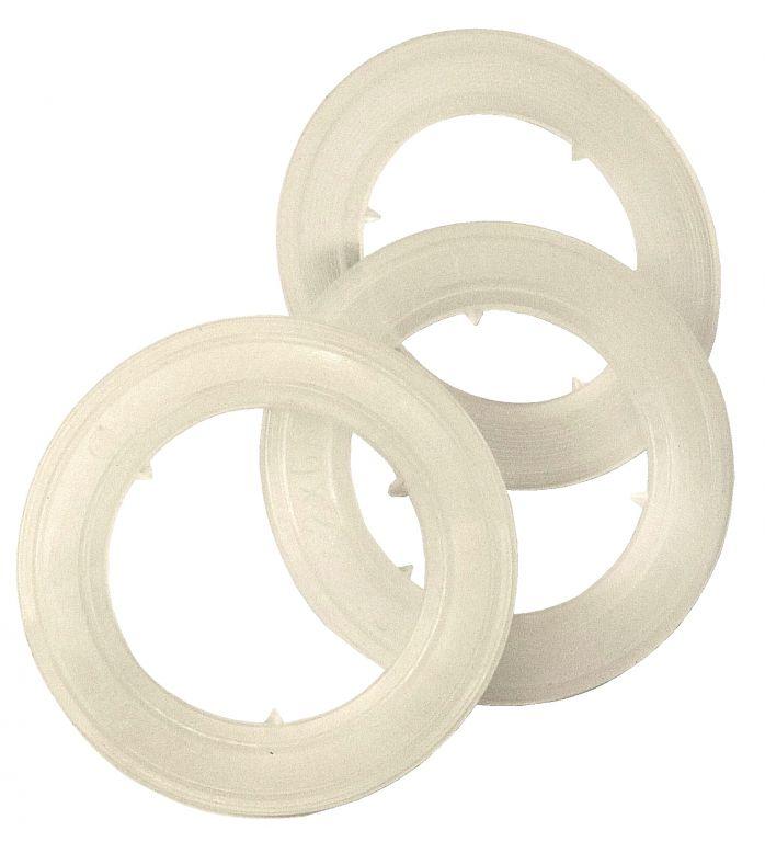 Rondelle plastique pour illet 25 mm 10311 nos - Tapisserie anti bruit ...