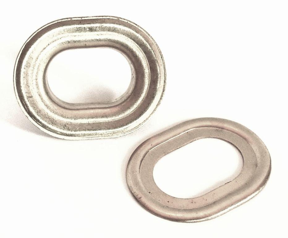 Oeillet oblong laiton nickel 10502 nos produits - Tapisserie anti bruit ...