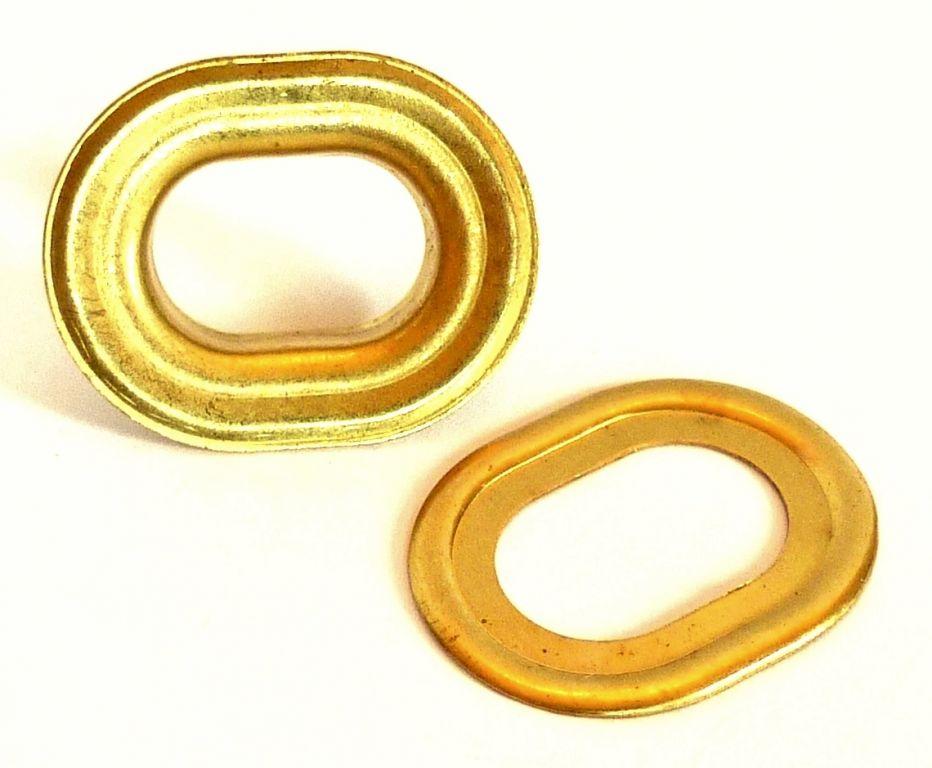Oeillet oblong laiton poli 10512 nos produits - Tapisserie anti bruit ...