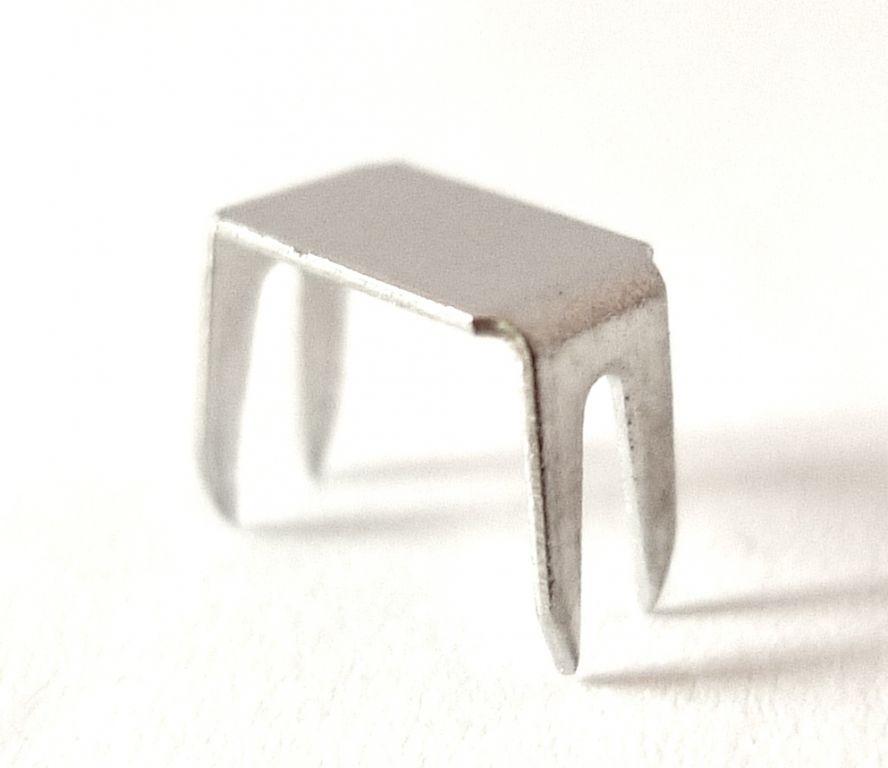 Stoppeur aluminium n 6 pour fermeture nylon 6 mm 12401s for Fermeture aluminium
