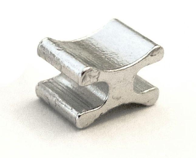 Stoppeur aluminium n 6 pour fermeture delrin 6 mm for Fermeture aluminium