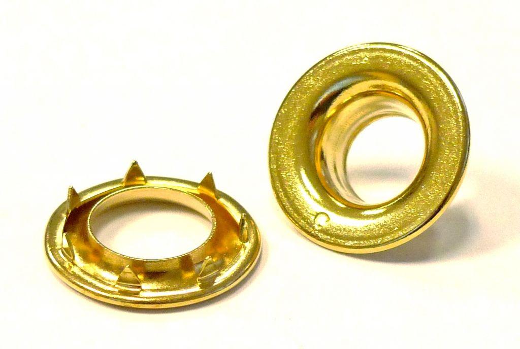 Oeillet 23 mm rondelle renforc e dents g2 7 nos - Tapisserie anti bruit ...