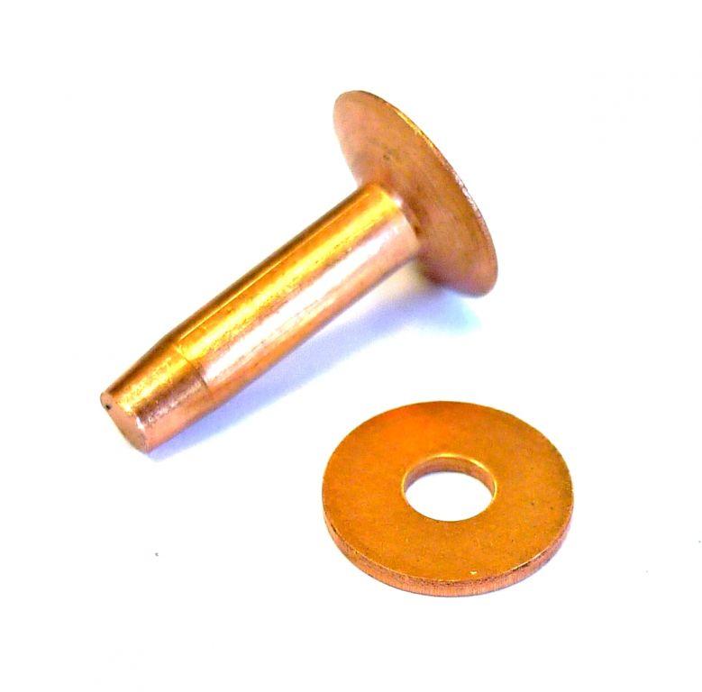 Rivets cuivre osborne nos produits fournitures pour - Rivet a frapper ...