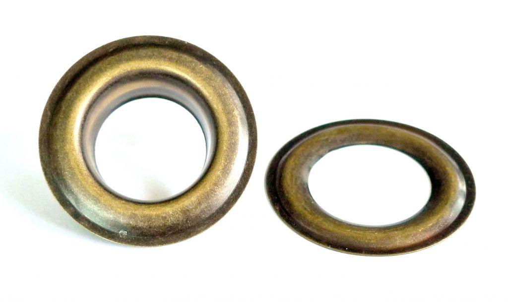 Oeillets laiton 25 mm oeillet inox 25 mm nos - Tapisserie anti bruit ...